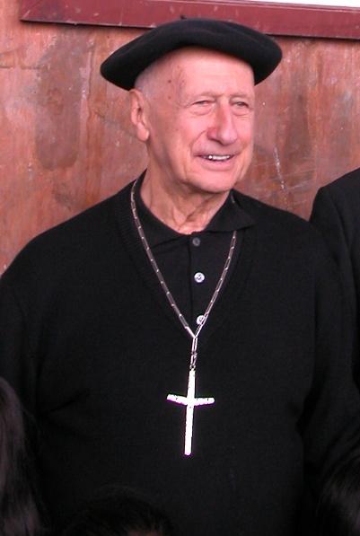 Le Cardinal Etchegaray