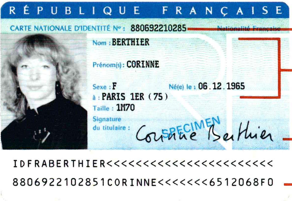 numéro carte d identité française MODALITES DE DELIVRANCE DES CARTES D'IDENTITE   Espelette